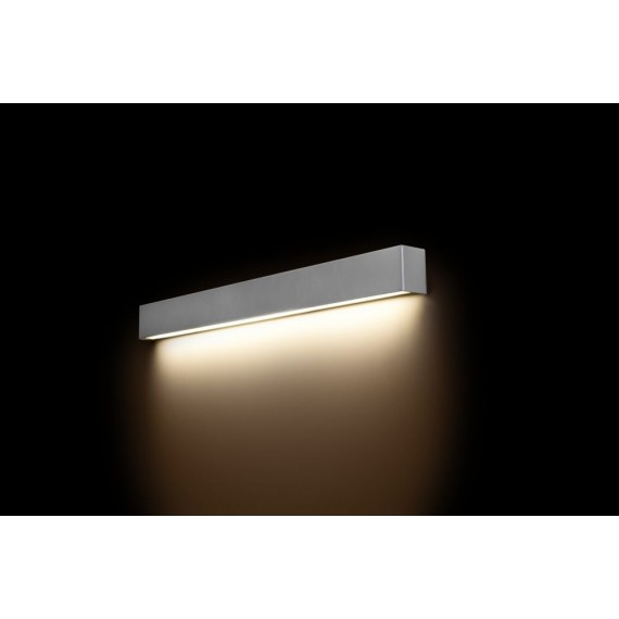 Straight Wall Led Silver M...
