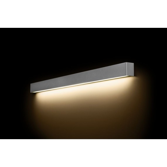 Straight Wall Led Silver L...
